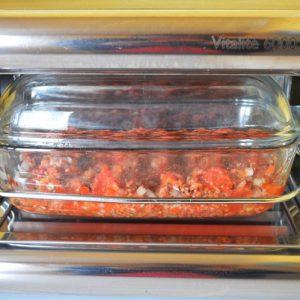 Une cuisson vapeur douce pour la sauce bolognaise