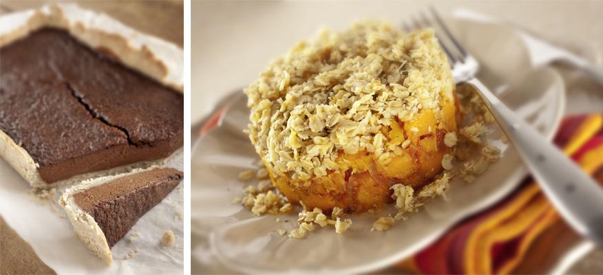 plats desserts sans gluten