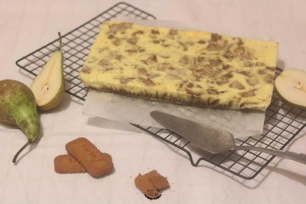 Un cheesecake d'hiver fait à l'omnicuiseur