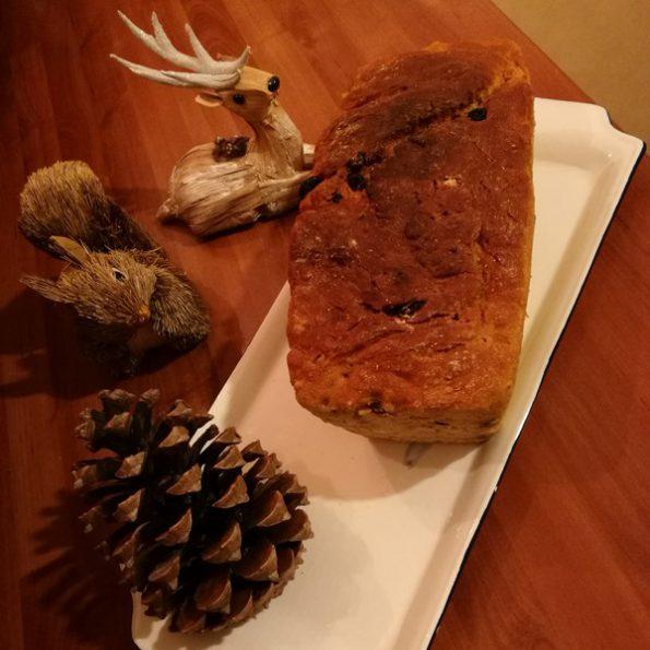 Un panettone de Noël cuisson basse température
