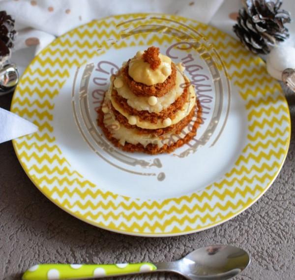 La recette du dessert sapin à l'omnicuiseur