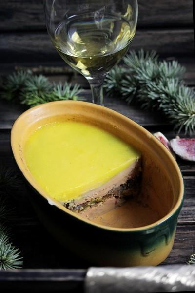 Un foie gras relevé aux figues et à l'omnicuiseur