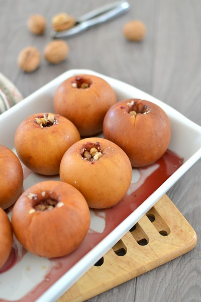 une idée goûter à l'omnicuiseur ? les pommes au four