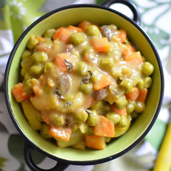 Un curry végétarien et végétalien