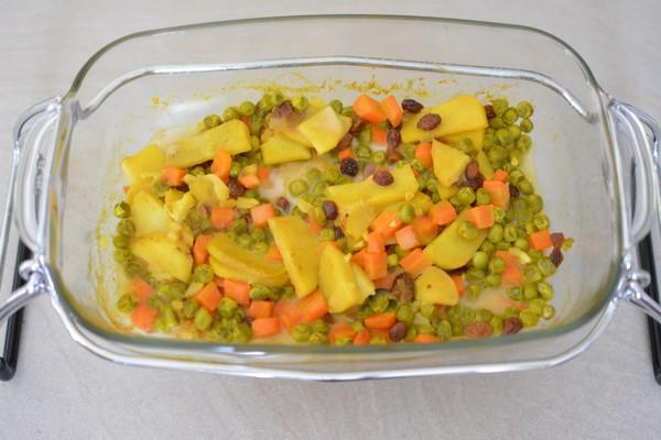 Une préparation végétarienne facile