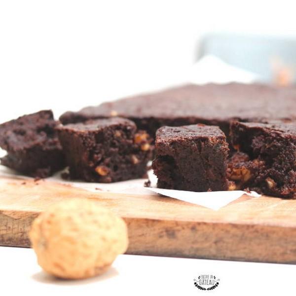 Un gâteau au chocolat healthy