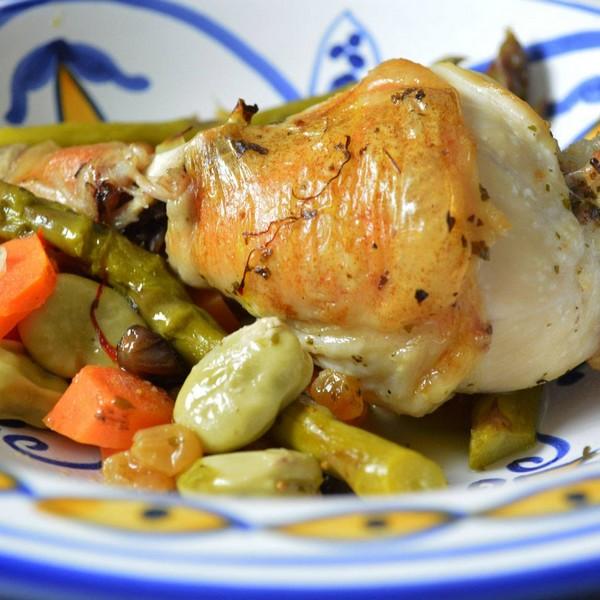 Le tajine aux légumes à l'omnicuiseur vitalité