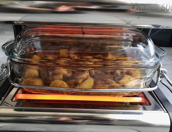 Un curry de pommes de terre à la cuisson douce