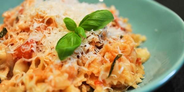 Le One pot pasta végé à l'omnicuiseur