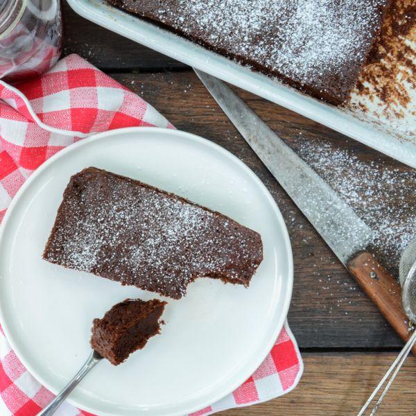 Un gâteau moelleux au chocolat