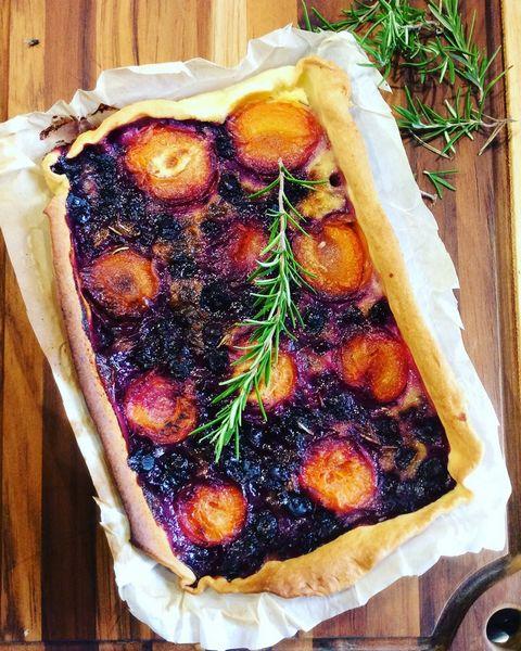 Une tarte aux fruits à L'Omnicuiseur