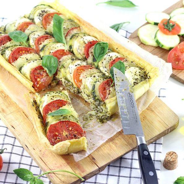 La tarte aux légumes à l'omnicuiseur