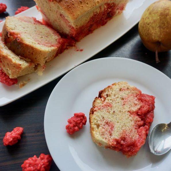 Un gâteau aux poires à la cuisson vapeur douce