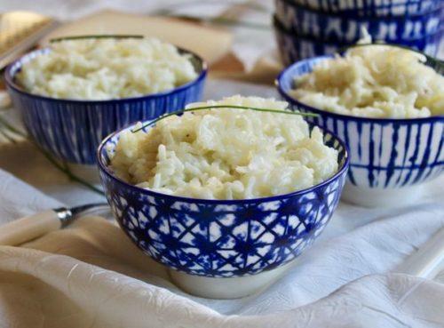 Un risotto végétarien à l'omnicuiseur