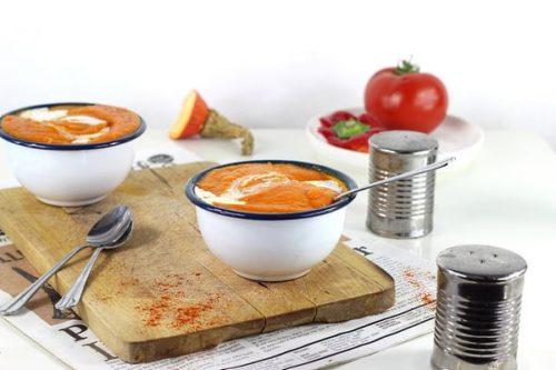 Une idée de soupe chaude à l'omnicuiseur