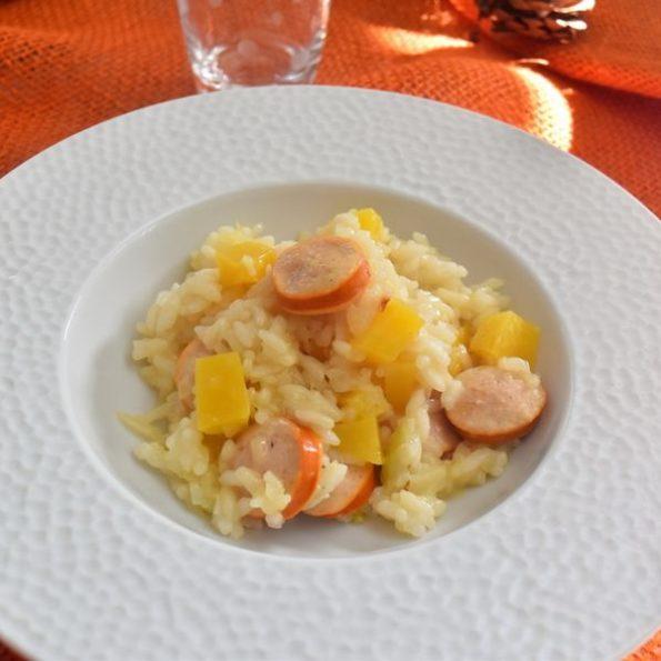 Un risotto à la butternut