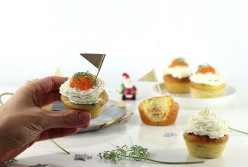 Des cupcakes au saumon