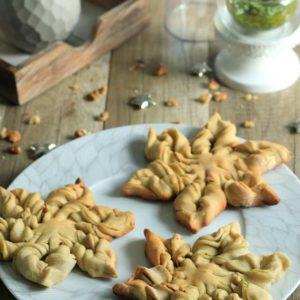 les mini étoiles au pesto sans lactose des Bentôs de July
