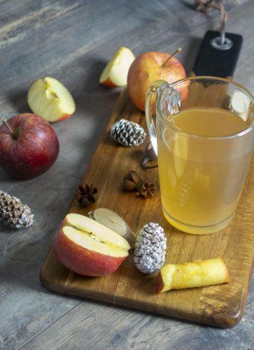 Un jus de pomme à l'Omnicuiseur