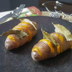 Une idée d'accompagnement facile et créatif : les pommes de terre à la Hasselback