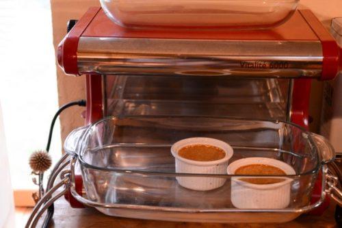 Des crèmes café à la vapeur
