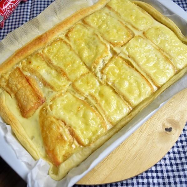 Une tarte au maroille à la cuisson vapeur