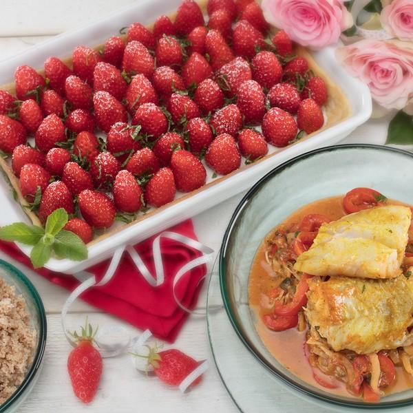 Une plat combiné pour la fête des mères