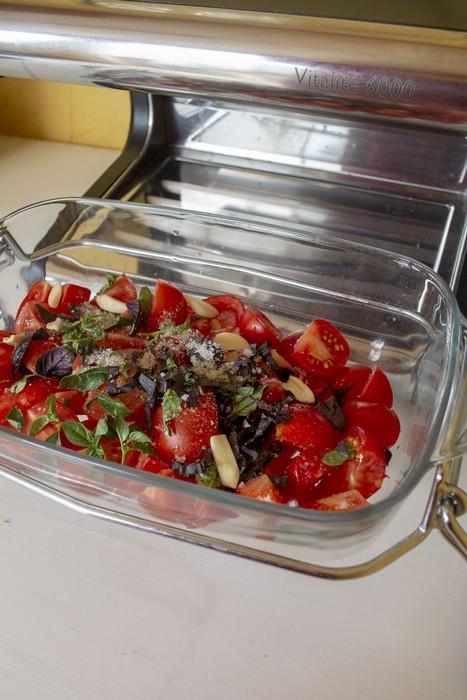 une sauce tomate à la vapeur