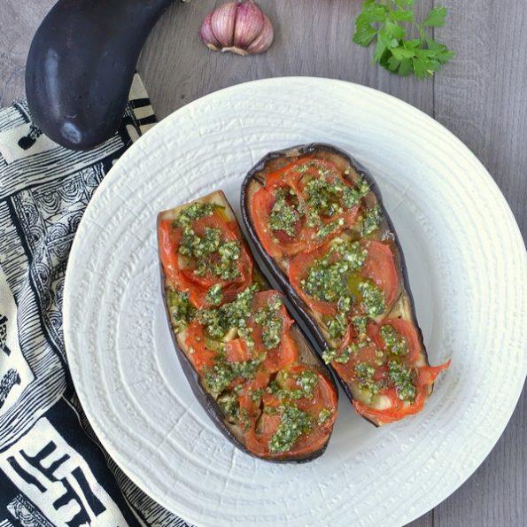 Une recette d'aubergines rôties à l'omnicuiseur