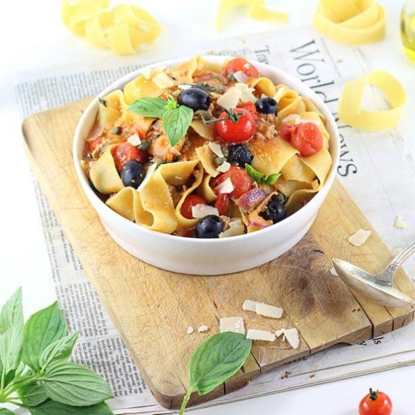 Un one pot pasta végétarien
