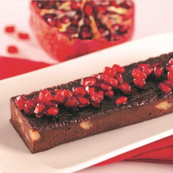 Un fondant en dessert pour Noël