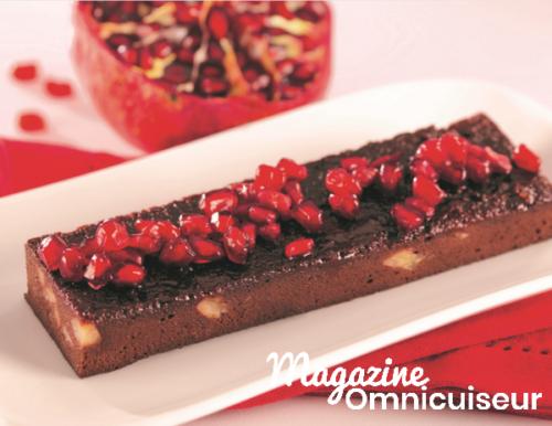 Un dessert au chocolat pour Noël