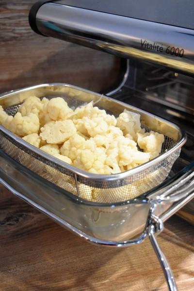 La cuisson du chou-fleur à L'Omnicuiseur