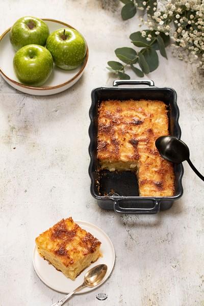 Un gâteau aux pommes à L'Omnicuiseur Vitalité
