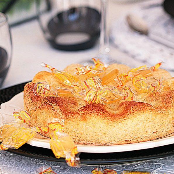 Un gâteau à la bergamote à la vapeur
