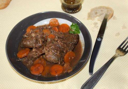Le chevreuil cuit à basse temperature