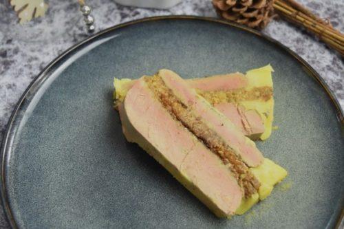 Du foie gras à la vapeur