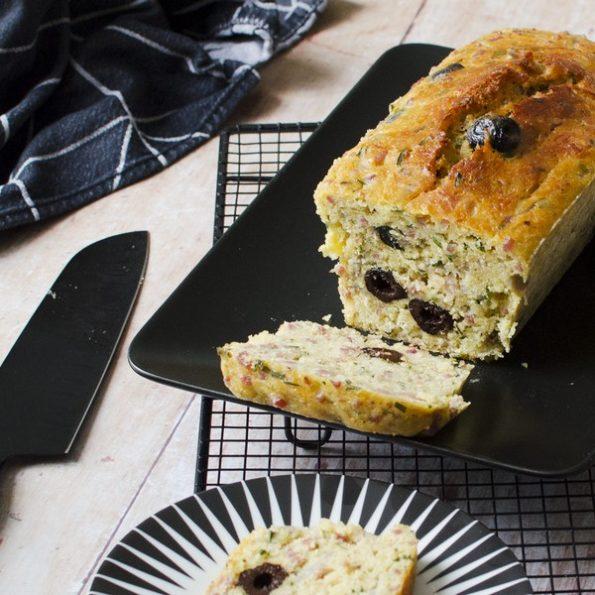 Un cake salé facile à faire