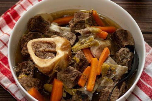 La recette du pot-au-feu à la cuisson vapeur douce