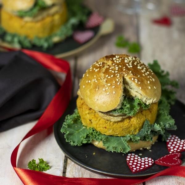 Une recette de burger pour la Saint-Valentin