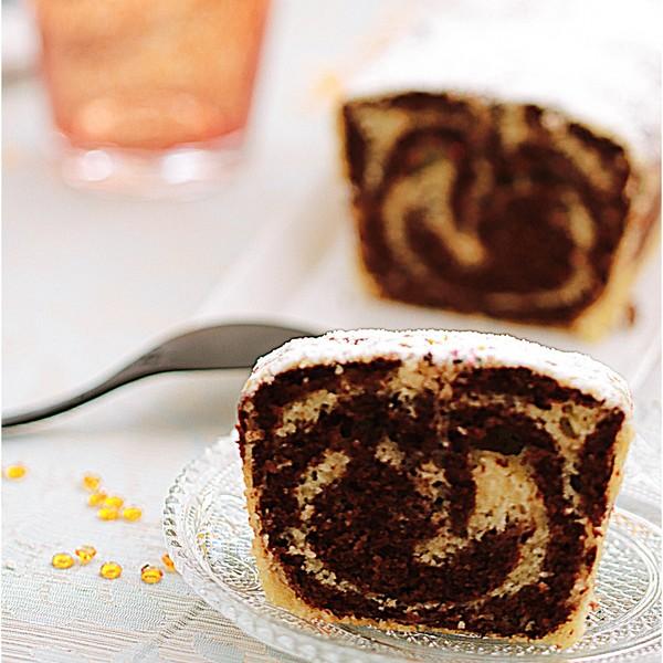 Un cake au chocolat à L'Omnicuiseur