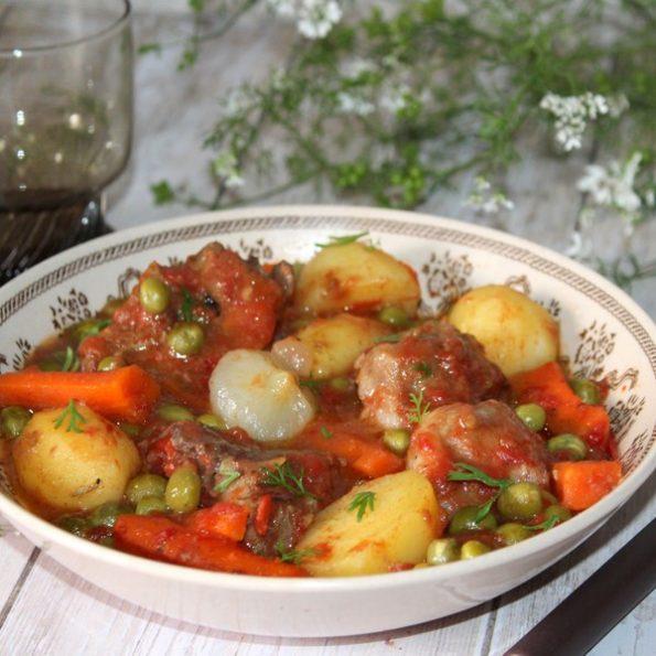 La recette du navarin d'agneau à L'omnicuiseur