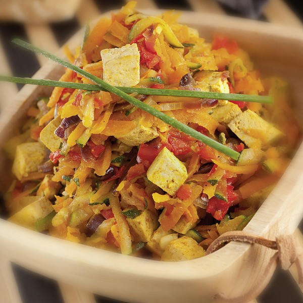 Une recette végétarienne à l'omnicuiseur