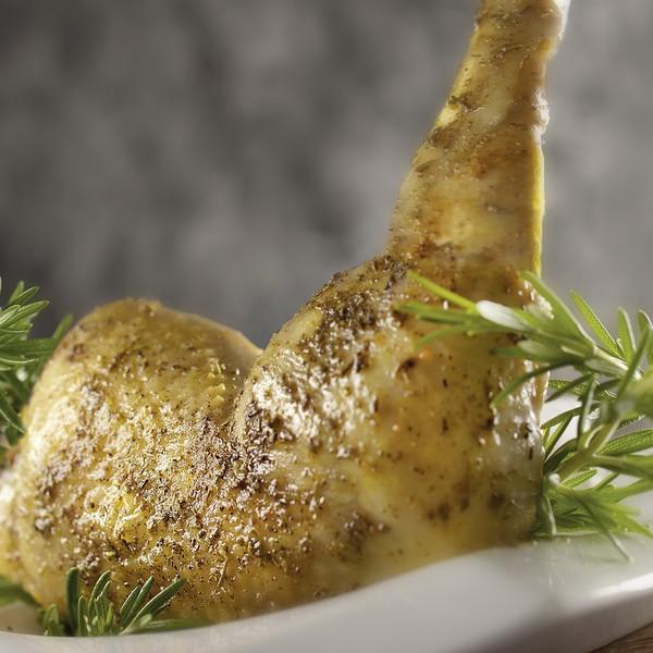 Du poulet cuit à la vapeur