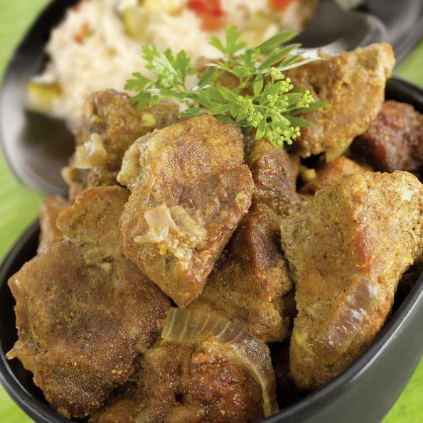 Un curry à la vapeur