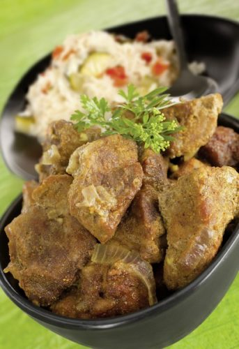 Un curry à l'omnicuiseur