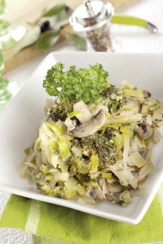 Des légumes à la vapeur