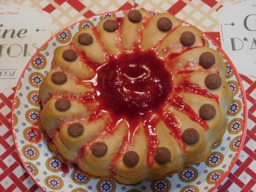 Un gâteau cuit à basse température