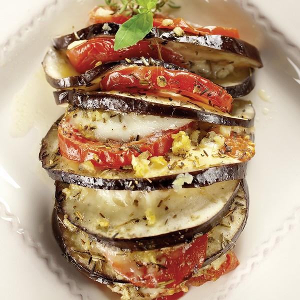 Le gratin d'aubergine à l'omnicuiseur