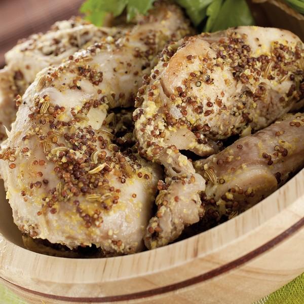 Du lapin cuit à basse température